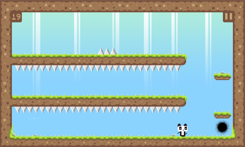 Panda Love Game Screenshot.
