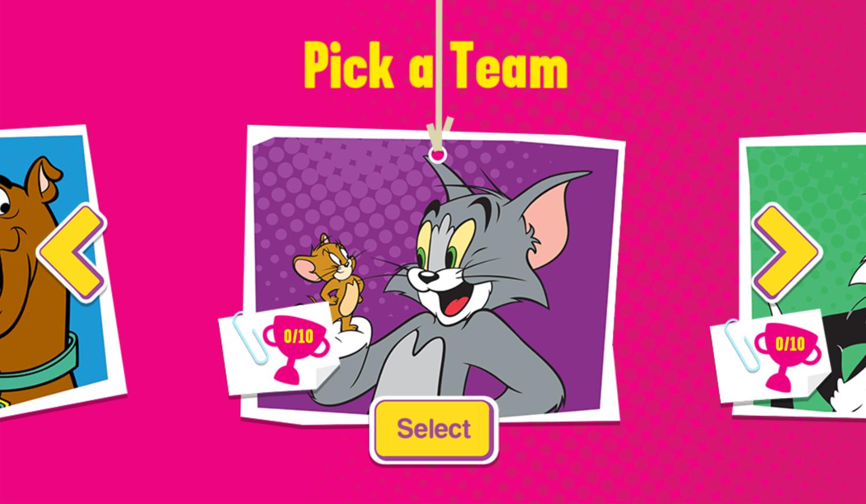 Paper Racers Game Pick Team Screenshot.