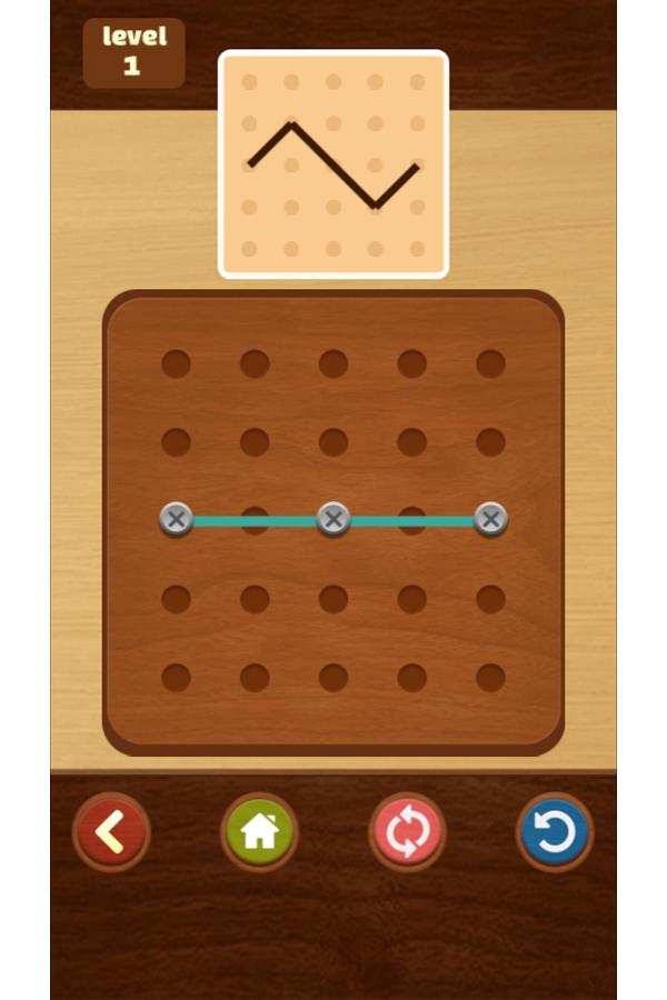 Pattern Game Screenshot.