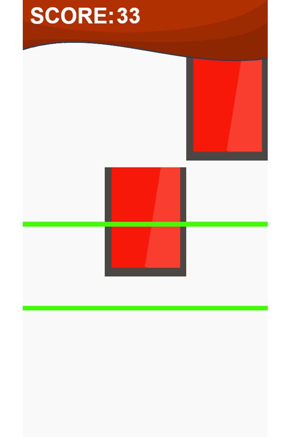 Piano Tiles Game Avoid Tapping Red Blocks Screenshot.