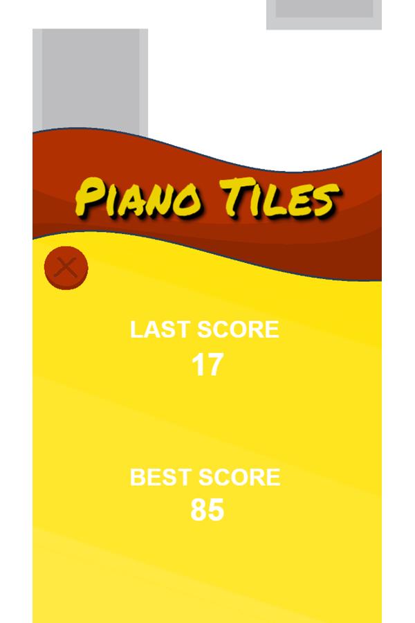 Piano Tiles Best Score Screenshot.
