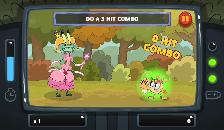 PGBC Game Lad Blitz Game Do A Combo Gameplay Screenshot.