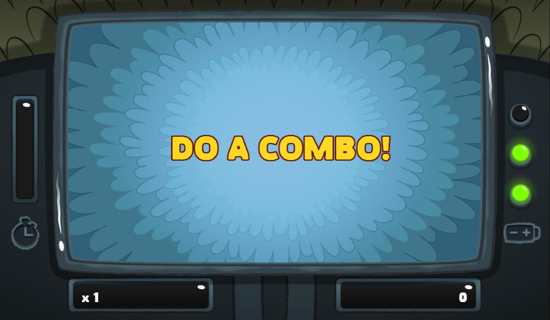 PGBC Game Lad Blitz Game Do A Combo Screenshot.