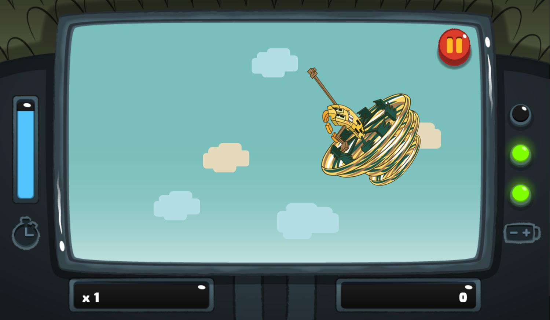 PGBC Game Lad Blitz Game Don't Touch Bronado Gameplay Screenshot.