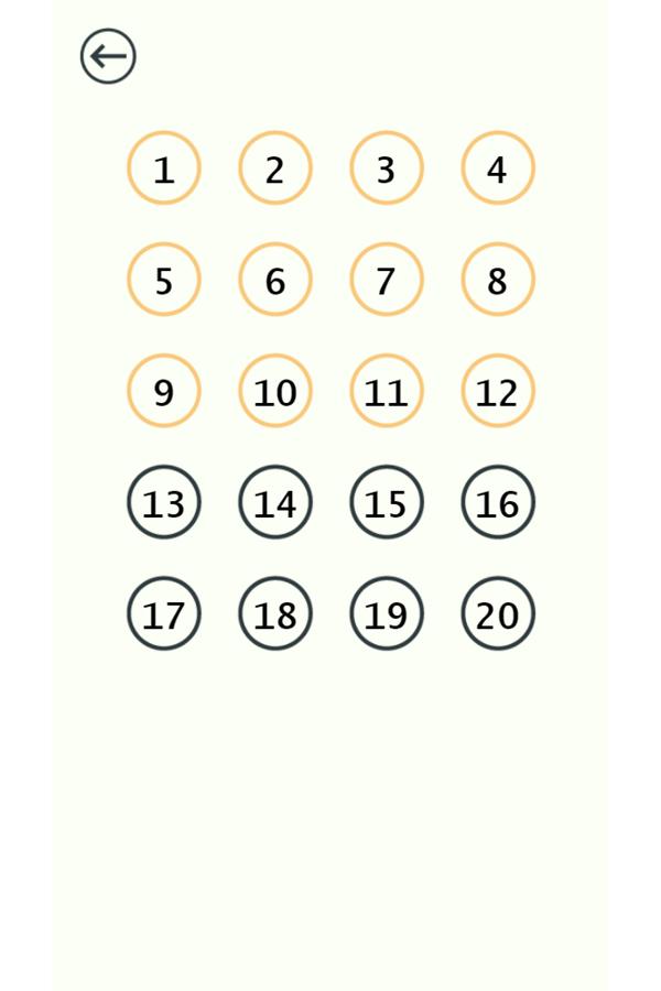 Pin Love Balls Game Levels Screenshot.