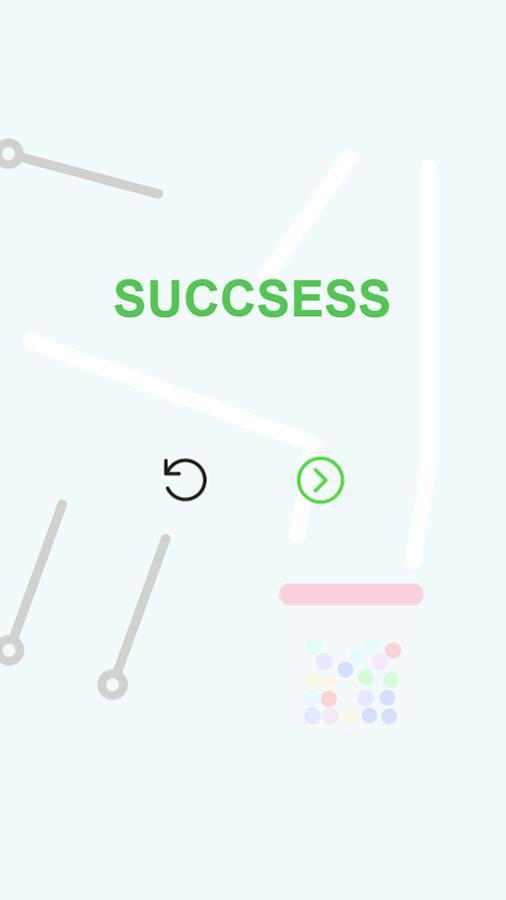 Pull Pin Level Success Screenshot.