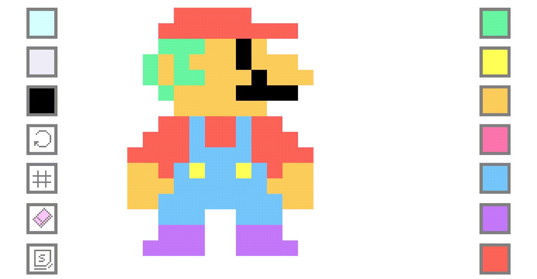 Pixel Art Creator.