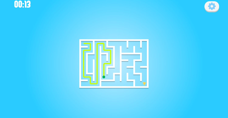 Play Maze Level Select Screenshot.