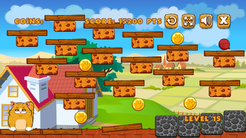 Playful Kitty Game Screenshot.