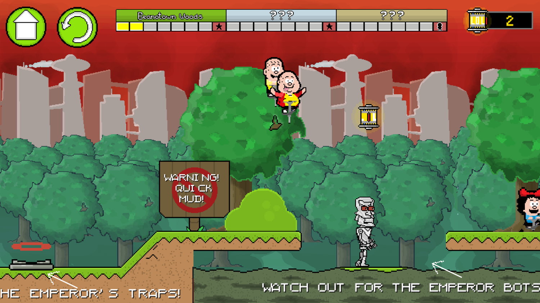 Pogo to the Future Game Extra Tips Screenshot.