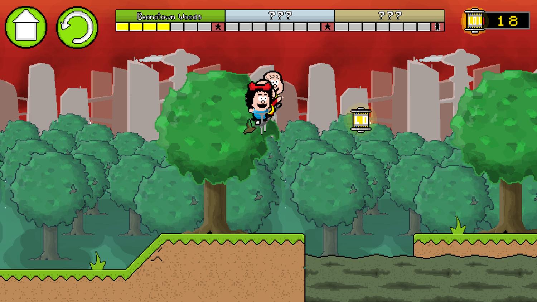 Pogo to the Future Game Screenshot.