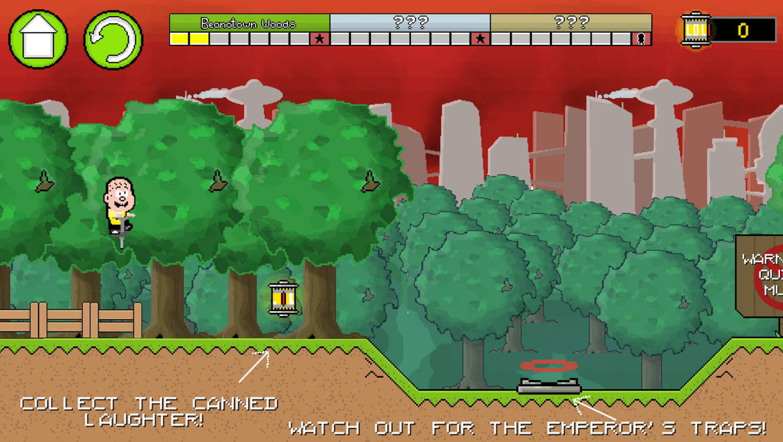 Pogo to the Future Game Play Tips Screenshot.