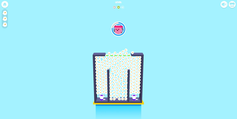 Popcorn Master Game Full Screenshot.