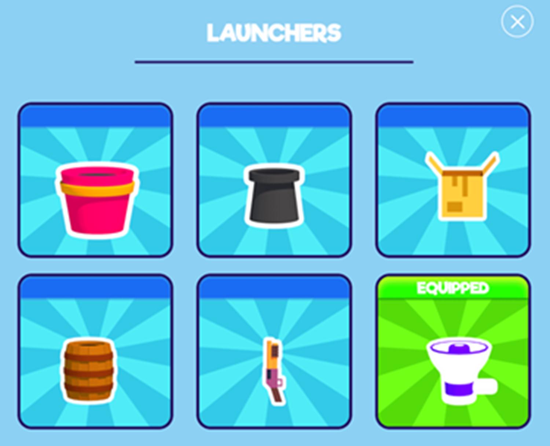 Popcorn Master Game Launchers Screen Screenshot.
