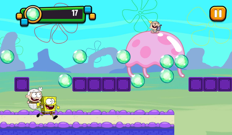 Portal Chase Game Jellyfish Jump Play Screenshot.