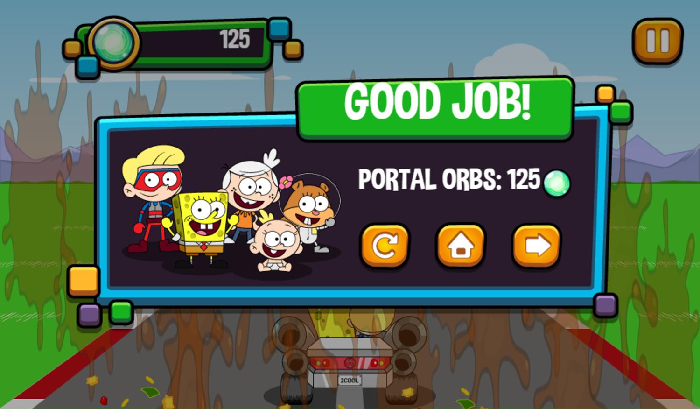 Portal Chase Game Taco Dodge Complete Screenshot.