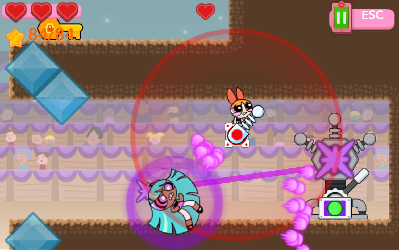 Powerpuff Girls Hypno Bliss Defeated Screenshot.