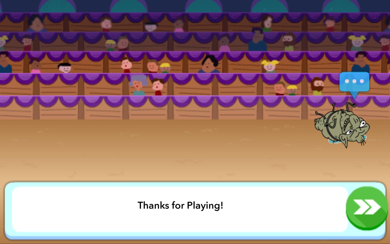 Powerpuff Girls Hypno Bliss Game Over Screenshot.