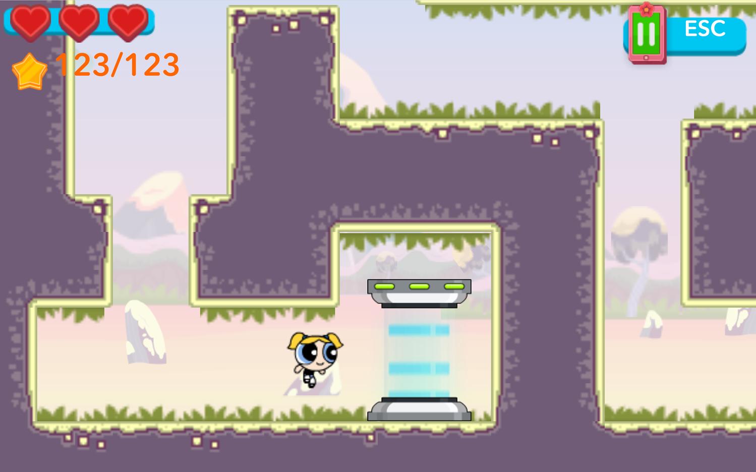 Powerpuff Girls Hypno Bliss Level End Screenshot.