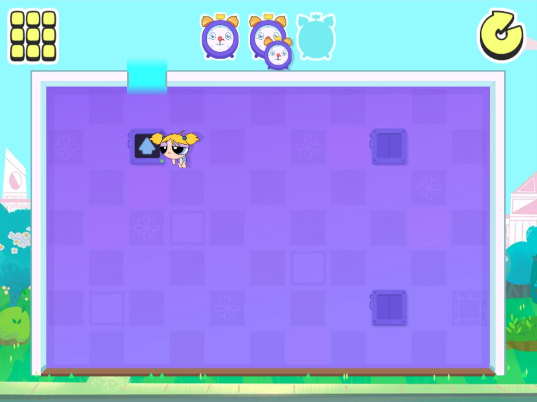 Powerpuff Girls Morning Mayhem Game Screenshot.