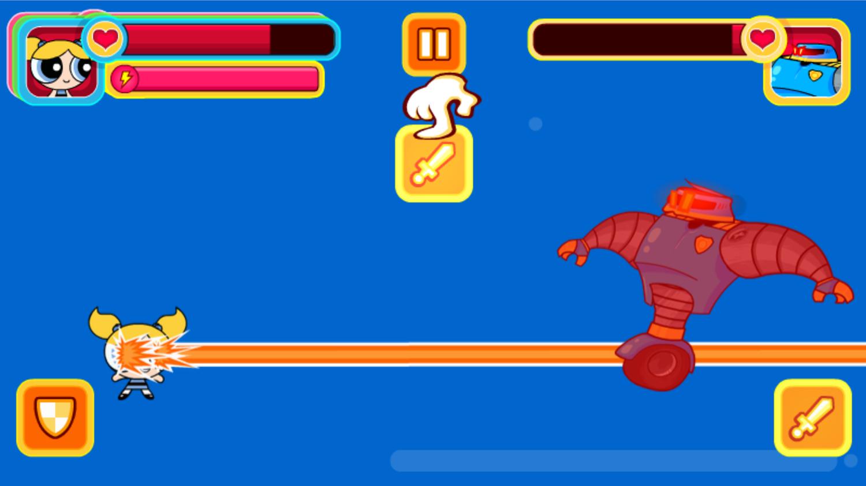Powerpuff Unordinary Week Getting Hit Screenshot.