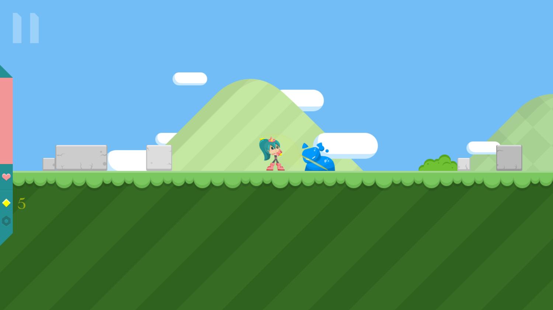 Princess Goldblade Game  Screenshot.