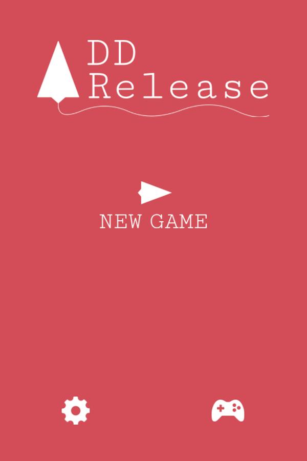 Release Game Welcome Screenshot.