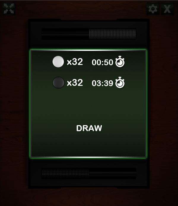 Reversi Draw Screenshot.