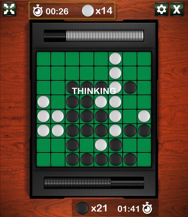 Reversi Game Screenshot.