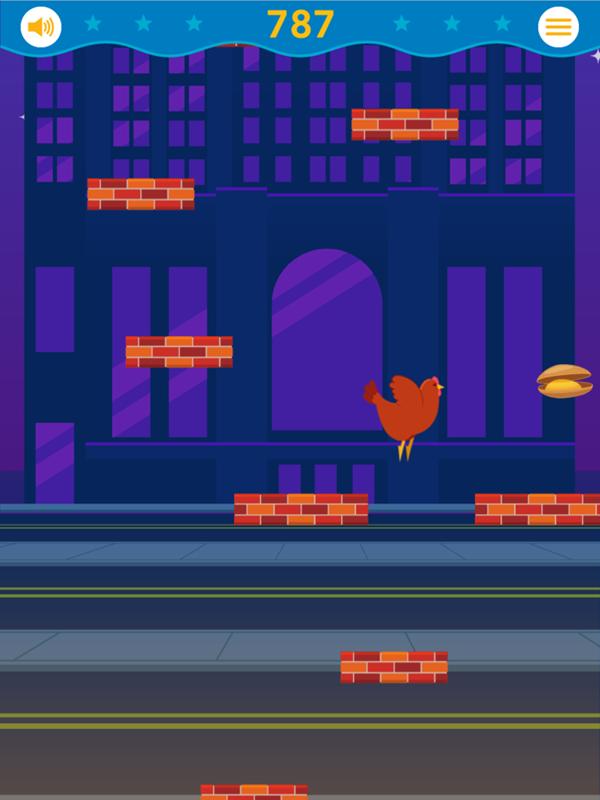 Rhode Island Hopping Game Screenshot.