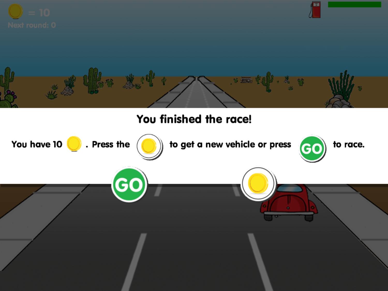 Road Rally Race Complete Screenshot.