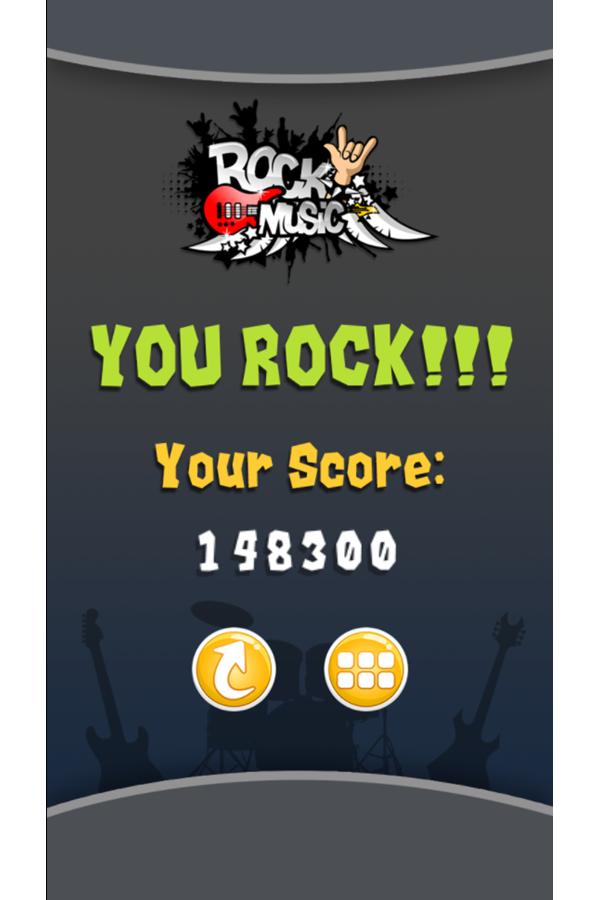 Rock Music Game You Rock Screenshot.