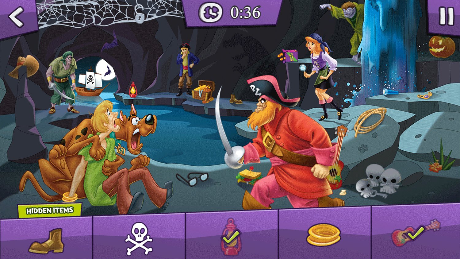 Scooby Doo Search N Scare Game Screenshot.