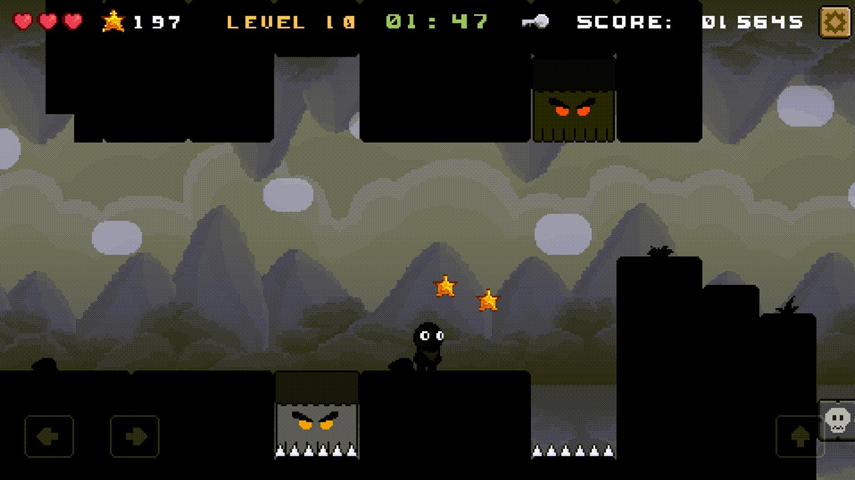 Shadoworld Adventure Game Screenshot.