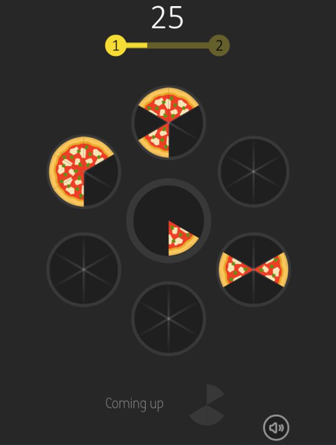 Slices Game Screenshot.