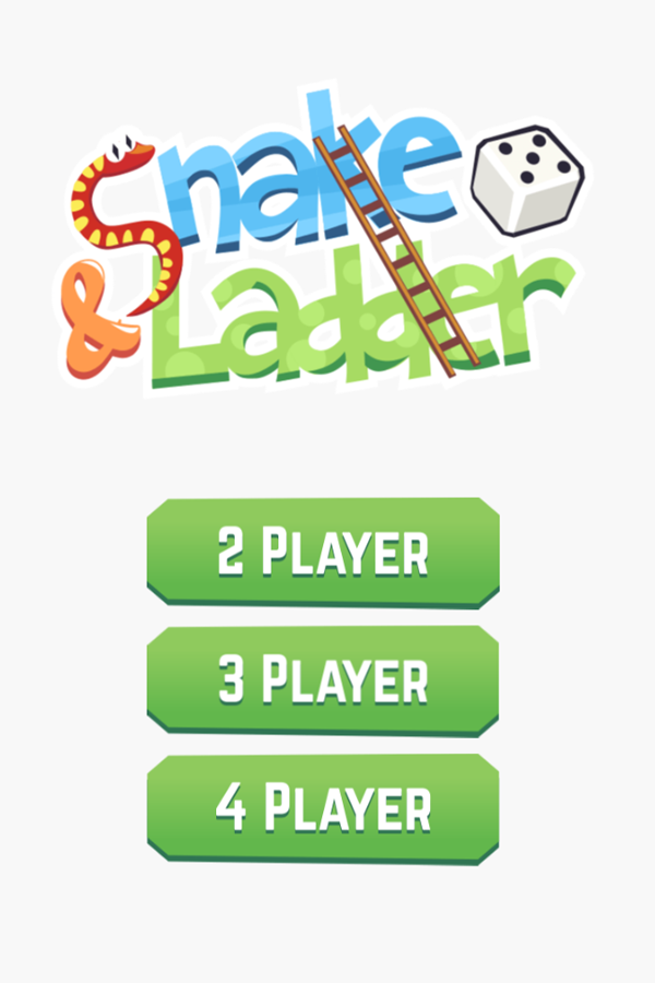 Snakes and Ladders Players Select Screenshot.