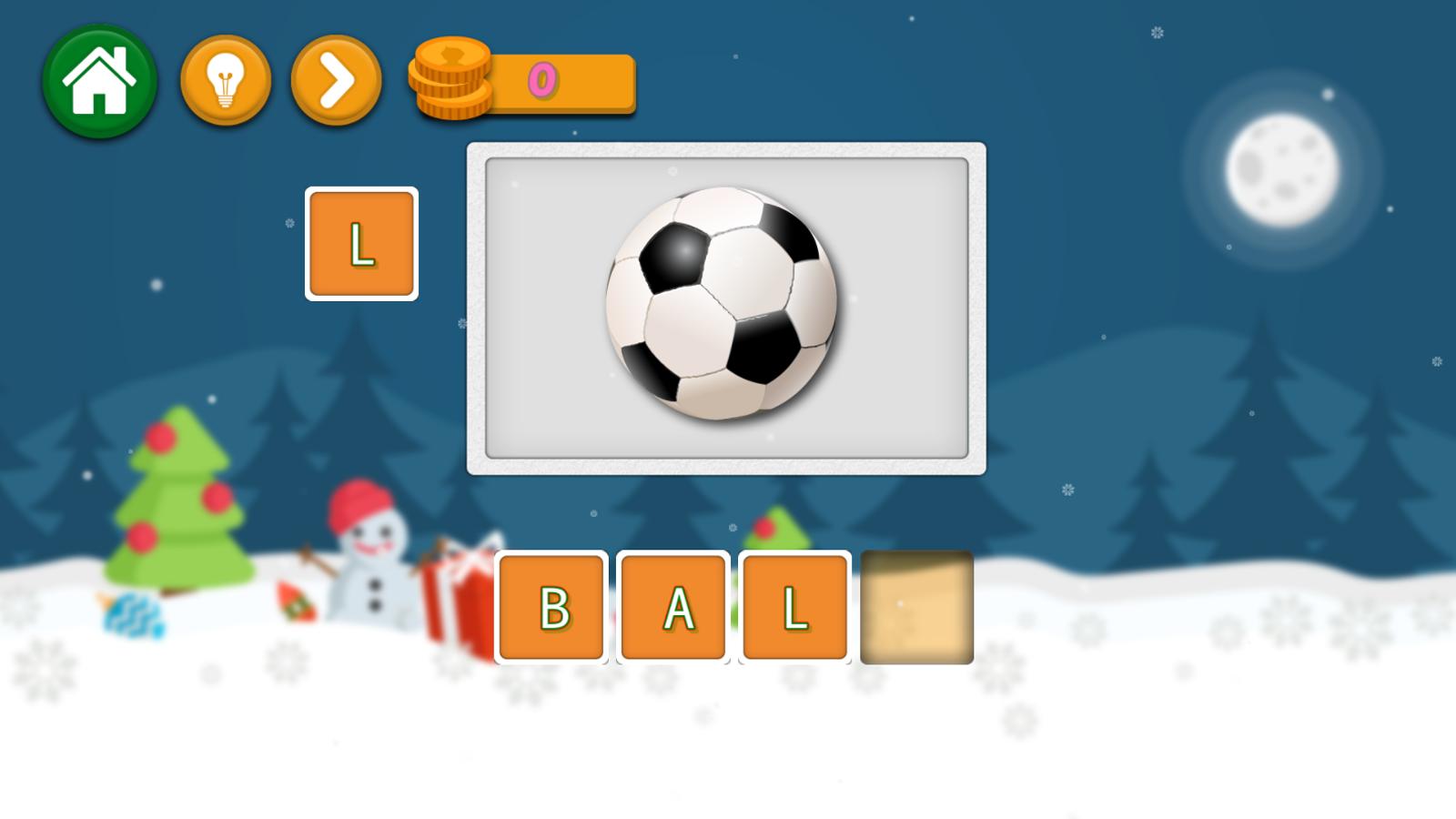 Spell School Game Screenshot.
