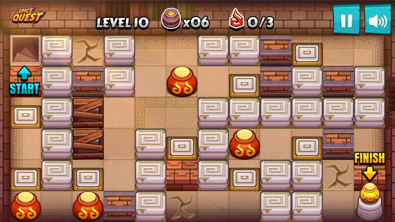 Spice Quest Game Screenshot.