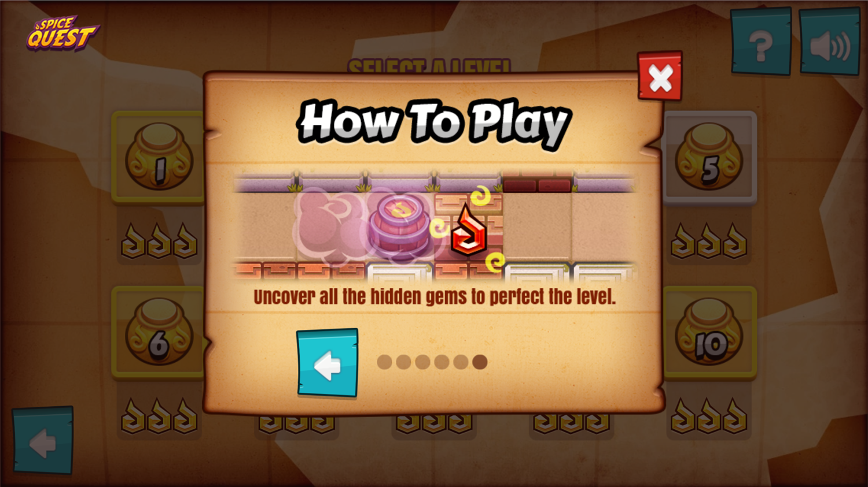 Spice Quest Game Hidden Gems Screenshot.