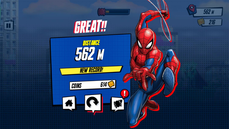 Spider Man Mysterio Rush Results Screenshot.
