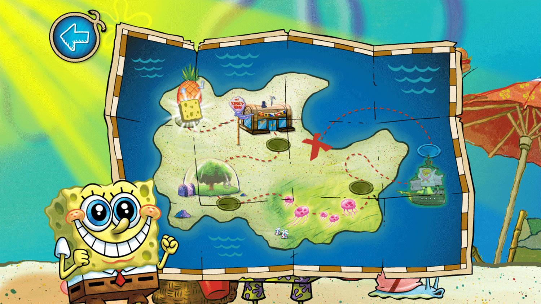 Spongebob Squarepants Beachy Keen Level Select Screenshots.
