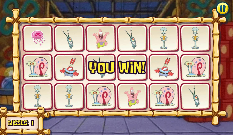 Spongebob Squarepants Toy Store Trial Win Screenshot.