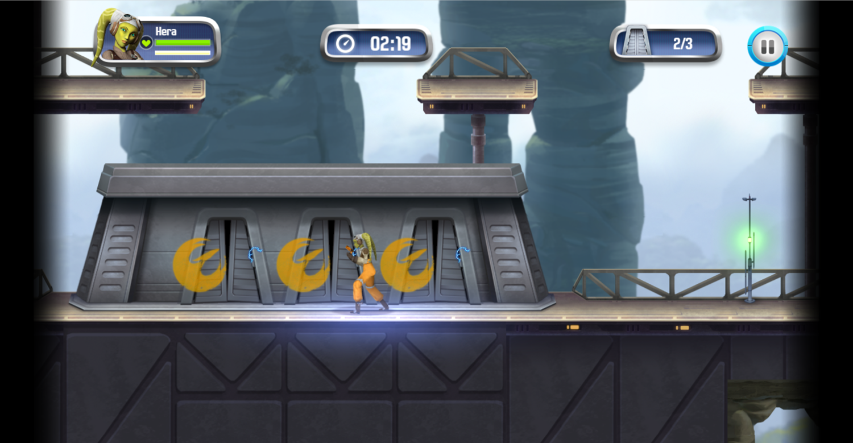 Star Wars Rebels Special Ops Game Screenshot.