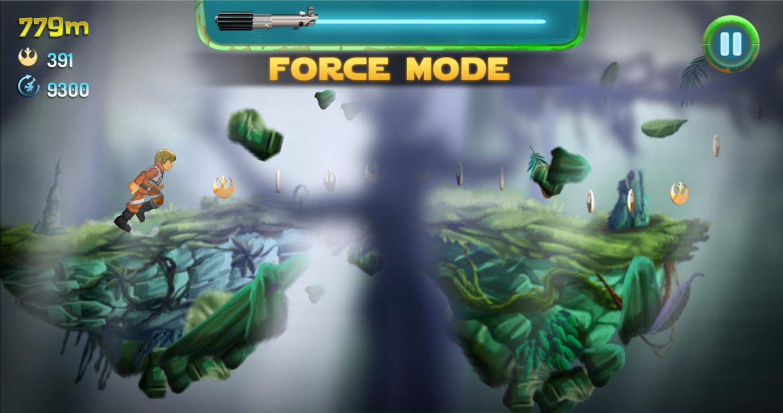 Star Wars Yoda's Jedi Training Force Mode Screenshot.