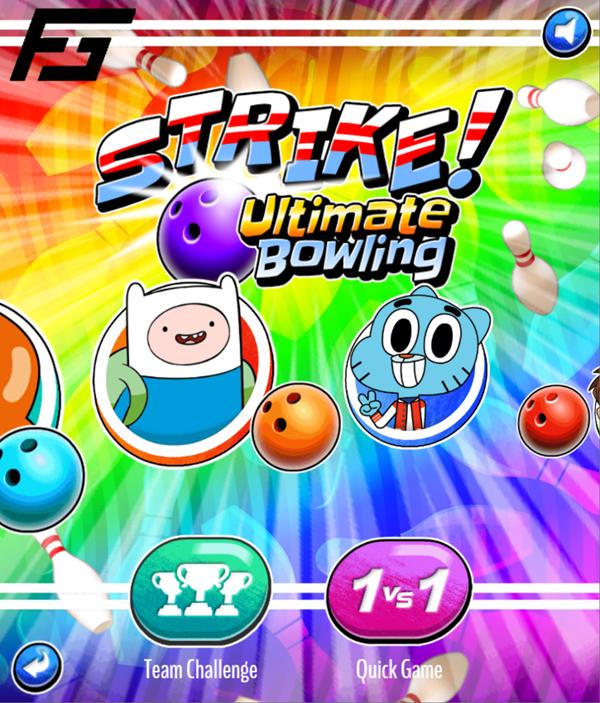 Strike Ultimate Bowling Game Mode Screenshot.