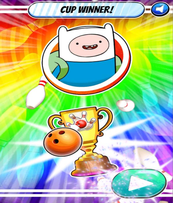 Strike Ultimate Bowling Gold Cup Screenshot.