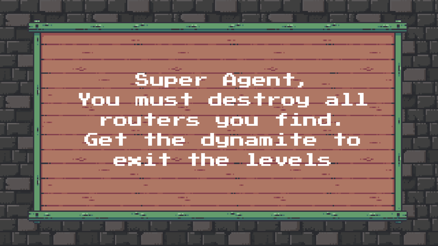 Super Agent Game How To Play Screenshot.