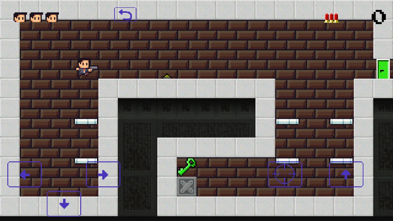 Super Agent Game Stage Start Screenshot.