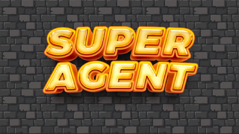 Super Agent Game Welcome Screen Screenshot.