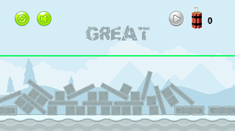 Super Destroyer Level Complete Screenshot.